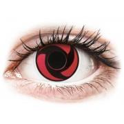 Red Mangekyu contact lenses - ColourVue Crazy