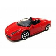"""Bburago 3"""" 1/64 Ferrari 458 Spider"""