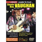 Roadrock International Lick library - S R Vaughan Learn to play (Guitar), DVD