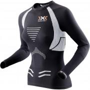 X-Bionic The Trick Hardloopshirt lange mouwen Dames zwart L 2018 Hardloopshirts