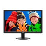 Philips 223V5LHSB2/00 LCD-Monitor (1920 x 1080 Pixel, Full HD, 5 ms Reaktionszeit, 60 Hz), Energieeffizienzklasse B