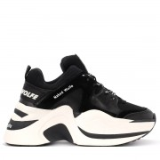 Naked Wolfe Sneaker Naked Wolfe Track in pelle e camoscio nero