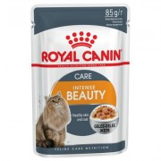 48 x 85 g Royal Canin Kattenvoer - Intense Beauty in Gelei