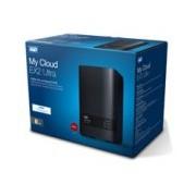 NAS WD MY CLOUD EX2 ULTRA 8TB/CON 2 DISCOS DE 4TB/2BAHIAS/1.3GHZ/1GB/1ETHERNET/2USB3.0/RAID 0-1