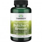Swanson Listnatec Bodlinatý (Butcher's Broom) 470 mg 100 kapslí