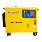 YDE7000TD Stager Generator de curent cu pornire electrica , putere 4.5 kVA , diesel , monofazat