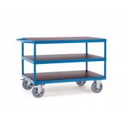 Fetra Super-MultiVario-Transporter Tischwagen mit 3 Etagen 2000x800 mm