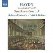 J. Haydn - Symphonies No.1-5 (0747313257126) (1 CD)