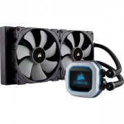 Водно охлаждане за процесор Corsair Hydro Series, H100i PRO, Compatible with Intel (LGA 1151/1150/1155/1156, 1366, 2011/2011-3/2066, CW-9060033-WW