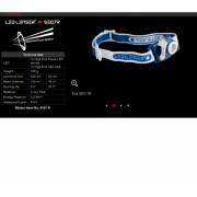 Lanterna Cap Led Lenser Seo7 220lm 3xAAA + Inc Bl.