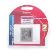 Hahnel HL-4LHP for Canon Digital Camera Ioni di Litio 760mAh 3.7V batteria ricaricabile