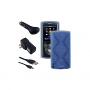 Accesorios Kit De Accesorios Para Sony Walkman NWZ-E383 NWZ-E384 Reproductor MP3 NWZ-E385, Translúci