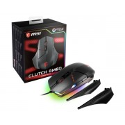 Mouse, MSI CLUTCH GM60, Gaming, USB, Black (PMW 3330)