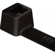Colier cablu, stabil la intemperii, UV poliamida 6.6 (PA66W), tip T30R, 150 x 3.5 mm, Ø fascicul 35 mm, la pachet, 100 bucati