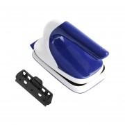 Cepillo Universal De Limpieza Práctico Cepillo Magnético Flotante De Tanque De Peces De Acuario Azul