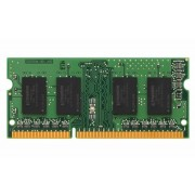 Kingston KVR13S9S8/4 - Geheugen - DDR3 (SO-DIMM) - 4 GB: 1 x 4 GB - 204-PIN - 1333 MHz / PC3-10600 - CL9