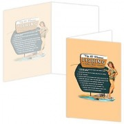 ECOeverywhere Top 10 Fishing Boxed Card Set 12 Cards and Envelopes 4 x 6-Inches Multicolored (bc12149)