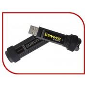 USB Flash Drive 64Gb - Corsair Flash Survivor Stealth USB 3.0 CMFSS3B-64GB