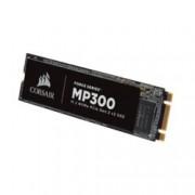 SSD 120GB, Corsair Force Series MP300, PCIe NVMe 3.0 x2, M.2 (2280), скорост на четене 1580 MB/s, скорост на запис 460 MB/s