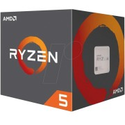 YD1600BBAEBOX - AMD AM4 Ryzen 5 1600, 6x 3.20GHz, boxed