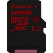 Карта памет Kingston microSDXC, 128GB, U3, KIN-SDCA3/128GB