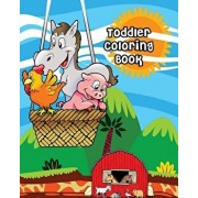 Toddler Coloring Book: Farm Animals, Activity Book for Kids Ages 2-4, Giant Coloring Books for Kids, Paperback/Julee Jensen
