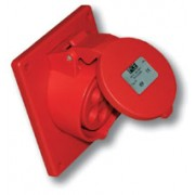 Gniazdo tablicowe skośne 32A/400V 5B PCE