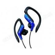 JVC Ecouteurs clip Sport ajustables finition bleue JVC HA-EB75-A-E