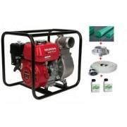 Motopompa HONDA pentru apa curata WB 30 XT DRX 3 66 mch cu cadou furtun aspiratie + refulare + ulei