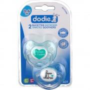dodie® sucette anatomique silicone 1er âge (Couleur non sélectionnable 3700763500119