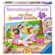 Puzzle Have Fun 2Ani+ printese dragute, 12 piese