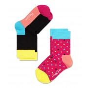 Happy Socks Sokken Kids Socks 2-Pack Roze