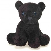 "Fiesta Toys Lil Buddies Bean Bag Animal Plush - 7"" Black Panther"