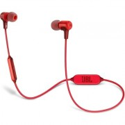 Блутут слушалки JBL E25BT, Червен