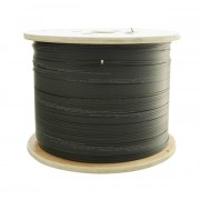 2km / 2000 Meter Roll 4 Core Single Mode Fiber Cable G.657A2 Outdoor Fiber Optic Cable