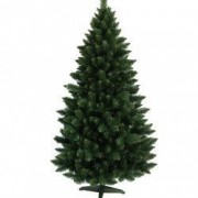 Brad de Craciun Artificial Verde Himalaya 180 cm si Suport Cadou