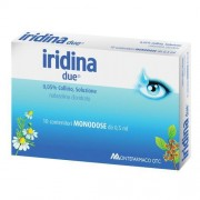 Montefarmaco Otc Spa Iridina Due*collirio 10 Flacincini 0,5 Ml