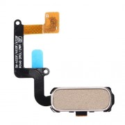 iPartsBuy for Samsung Galaxy A3 (2017) / A320 & A5 (2017) / A520 & A7 (2017) / A720 Home Button Flex Cable with Fingerprint Identification(Gold)