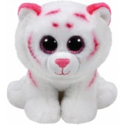 Jucarie plus 15 cm Beanie Babies TABOR - pink-white tiger TY