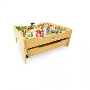Little Tikes Wood Train & Table Set