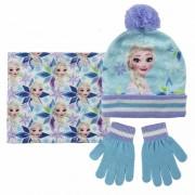 Disney Blauwe Frozen winterset voor meisjes