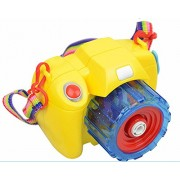 Generic Bubble Camera Toys With Bottle Blowing Bubbles With Light Music