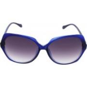 Vast Cat-eye Sunglasses(Violet)
