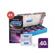 Pachet discret de prezervative Durex Intense Orgasmic, 40 buc