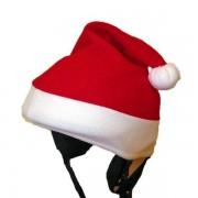 Kerstman muts skihelm cover