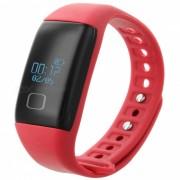 """""""KICCY T1 0.66"""""""" OLED TPU + ABS Bluetooth v4.0 Deporte Smart Band - Rojo"""""""