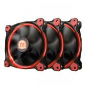 Thermaltake Riing 12 High SP LED Fan 3 Pack Red
