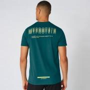 Myprotein Maglia Graphic - Verde alpino - XXL