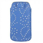 Apple Pull Tab Case - Blue (bling edition)