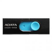 USB Kľúč 64GB ADATA UV220 black/blue